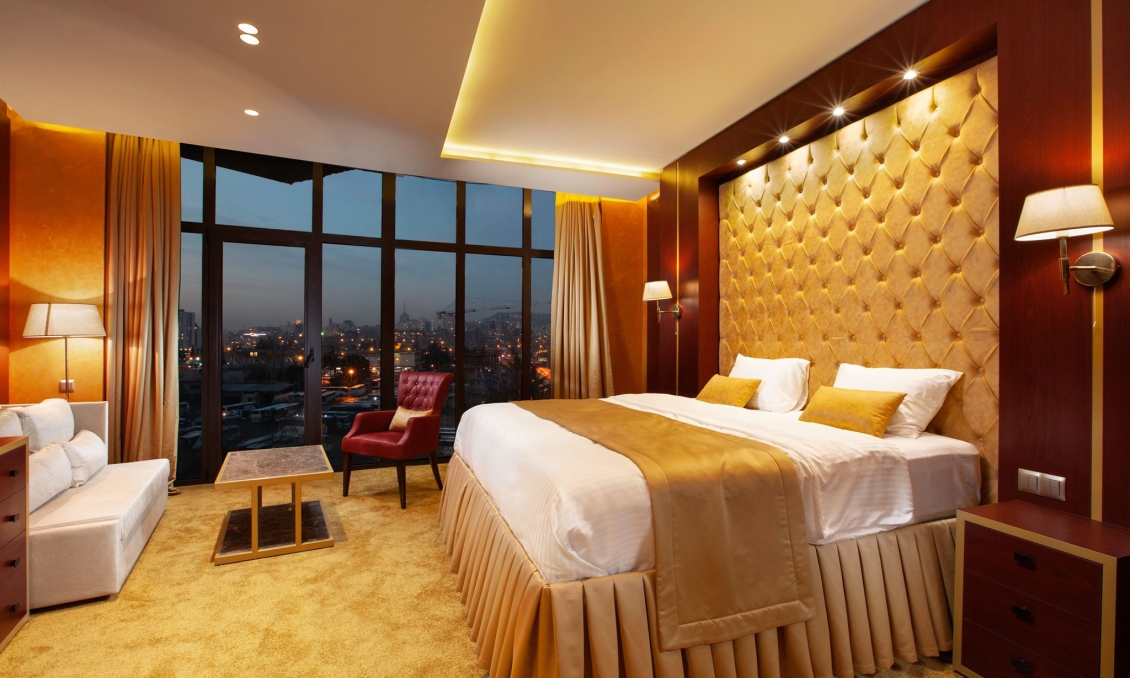 Apartments in a 5 star hotel