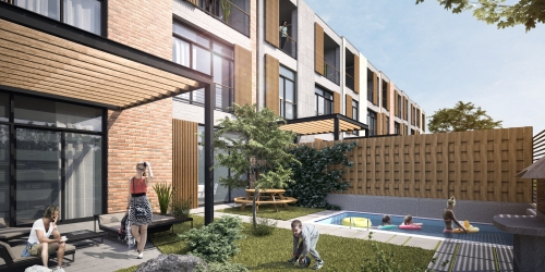 Apartments for sale in an ecologically clean area.