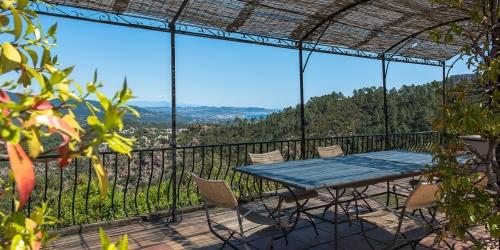 Close to Cannes - Renovated villa sea view