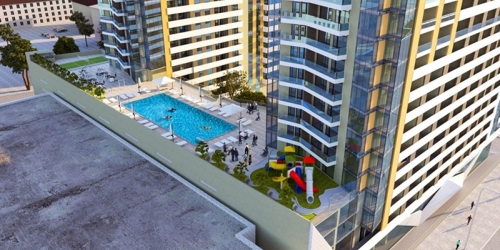 Apartments for sale in a new residential complex