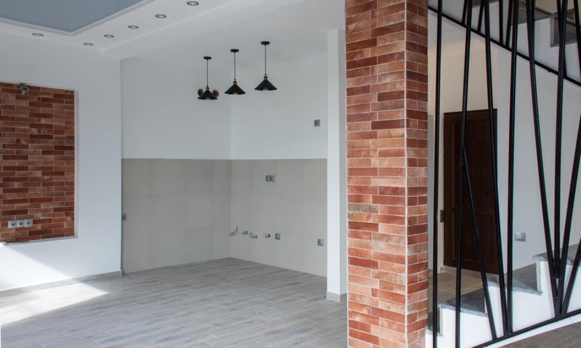 A three-storey villa