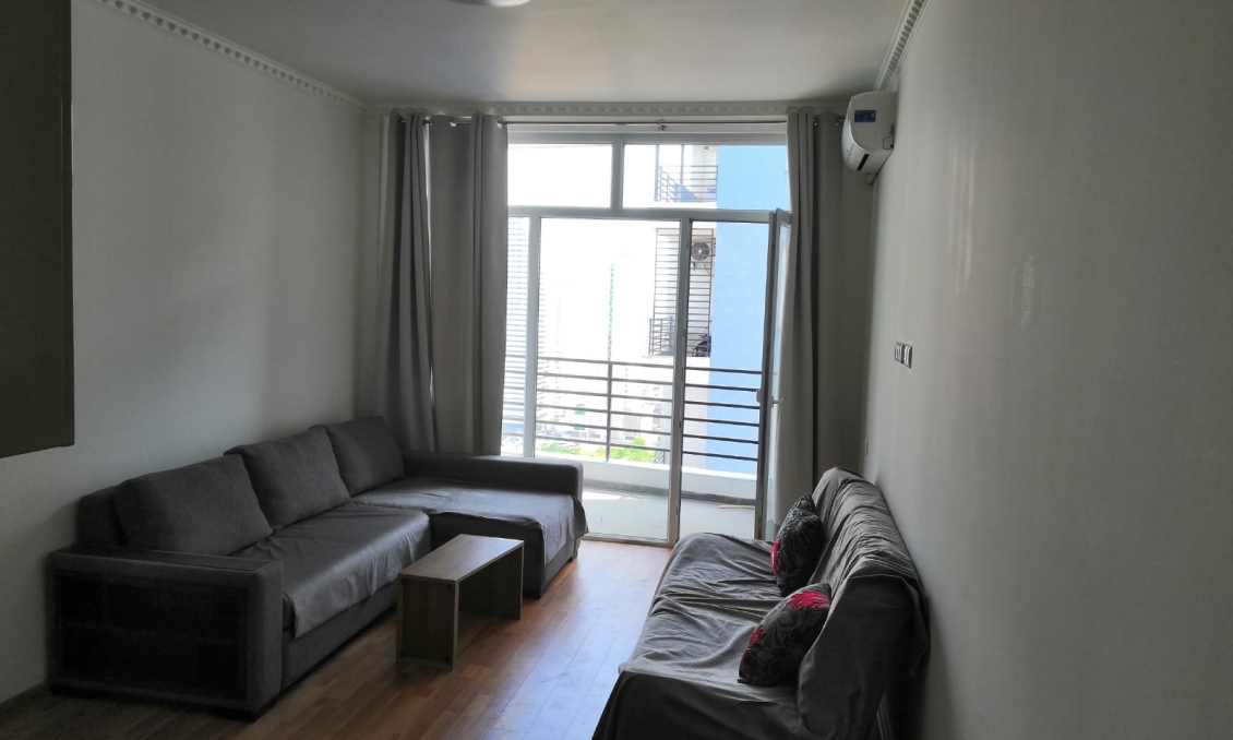 Rent 1-room apartment, 32 m2 in a new building with repair and furniture, 100 meters from the sea