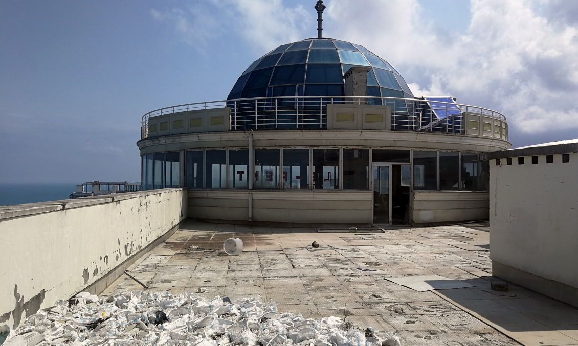 Commercial space with sea and Batumi view