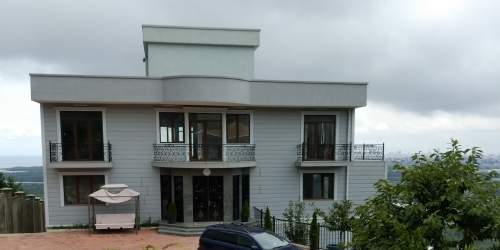 Sale villa with a gorgeous view of the sea and mountains
